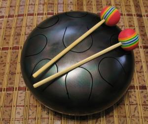 Глюкофон (hapi drum, tank drum) 9 нот